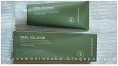 Kwasomaniaczka: Nature Republic Snail Solution Foam Cleanser