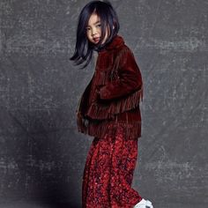 Tablo and Kang Hye Jung's daughter Haru scored her first solo pictorial with 'Harper's Bazaar'!Fans who missed seeing Haru on KBS 'Superman is… Kang Hye Jung, Choi Jin, Marie Claire, Lee Haru, Superman Kids, Superman Cast, Korean Fashion, Kids Fashion, Solo Photo