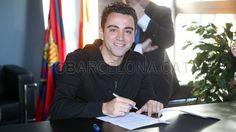 Xavi extends contract through 2016