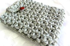 Chunky yarn crochet tablet covercrochet Ipad by Lovellanegra