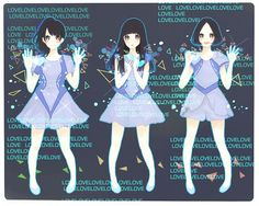 Tags: Anime, Band, Perfume (Band), Ayano Oumoto, Yuka Kashino, Ayaka Nishiwaki, White Border