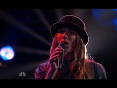 "Sawyer Fredericks ""Collide"" The Voice USA 2015 Knockouts Rounds"