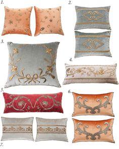 BVis antique pillows, Rebecca Visazard pillows, antique textile pillows, antique velvet pillows,    antiques I like, antique Pillow collection, antique textile, textiles