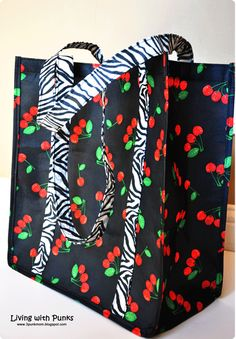 diy reusable shopping bag pattern diy | Quilts | Pinterest ...