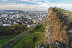Experience a proper hill walk in the heart of Edinburgh. Arthur's Seat's rocky summit towers over the city, with fabulous views in all directions, and the extensive parkland surrounding it is an oasis of calm as a retreat from the busy city.