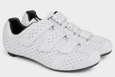 Lightweight and heavily ventilated, Rapha's cycling shoes for climbing specialists are designed let you focus on scaling those high-incline mountain roads.