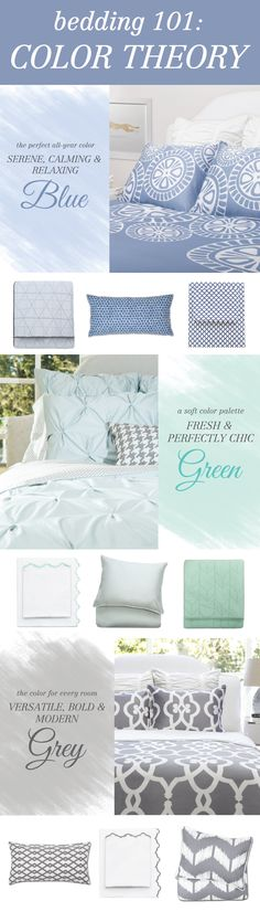What bedding color is right for you? From luxury sheets to designer bedding and colorfully patterned duvets, find your perfect bedding that fits your style. Named best site for bedding by HGTV. Pretty Bedroom, Dream Bedroom, Home Decor Bedroom, Diy Home Decor, Bedroom Ideas, Farmhouse Style Bedding, Luxury Sheets, Duvet Sets, Living Room Inspiration