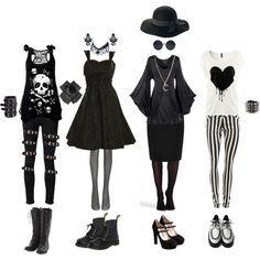 Fashion > Goth outfit >