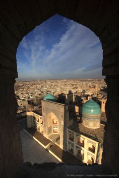 Bukhara. Uzbekistan  Uzbekistan is still on my list! For how much time I've spent in Central Asia, I can't believe I haven't popped over. Bukhara, you look beautiful, ancient and enticing.