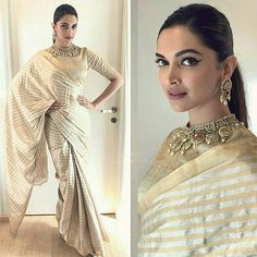 Fashion Pick of the Day: Not just as Padmavati, Deepika Padukone keeps it charming and royal in reality too
