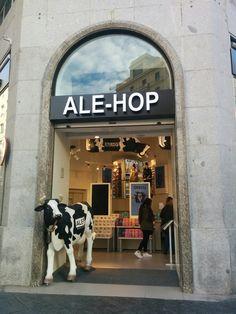 Entrada a tienda Ale-Hop, (Madrid). Diciembre 2016