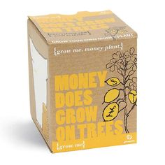 I Just Love It Money Plant - Grow Your Money Trees Seed Kit Money Plant - Grow Your Money Trees Seed Kit - Gift Details. Proof that money really does grow on trees (well sort of). Our Grow Me Money Does Grow On Trees Seed Kit contains everything youll need to http://www.MightGet.com/january-2017-11/i-just-love-it-money-plant--grow-your-money-trees-seed-kit.asp