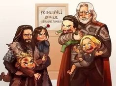 funny ... but thor is much better at parenting