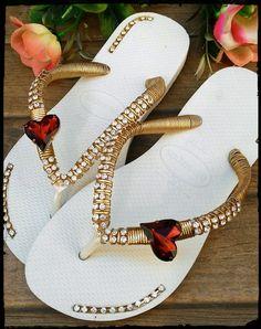 Cute Sandals, Flip Flop Sandals, Bedazzled Shoes, Bridal Flip Flops, Decorating Flip Flops, Beaded Sandals, Designer Sandals, Rave Outfits, Fashion Flats