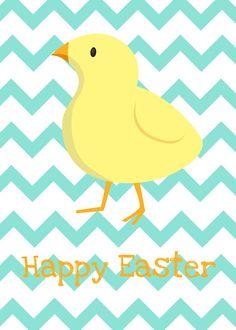 Easter printable free 5x7 spring