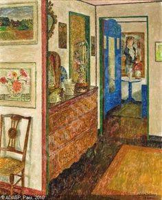 Leon de Smet,  Intérieur de l'artiste, 1962