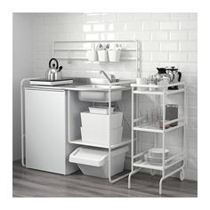 SUNNERSTA Mini-kitchen IKEA mini-kitchen you can easily create a practical and inspiring area for cooking, even in a small space. Kitchen Ikea, Mini Kitchen, Kitchen Decor, Ikea Kitchens, Camper Kitchen, Kitchen Cupboard, Kitchen Units, Design Kitchen, Kitchen Furniture