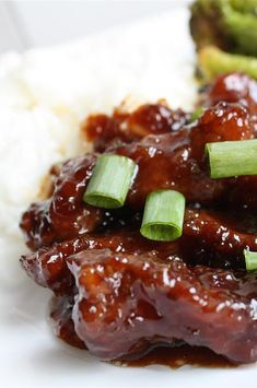 """Mongolian Beef and Spring Onions 