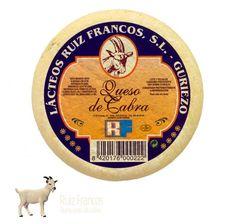 Queso puro de cabra natural Ruiz Francos
