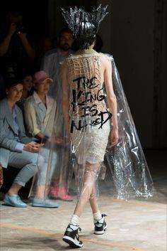 Sfilata Moda Uomo Comme des Garçons Homme Plus Parigi - Primavera Estate 2017…