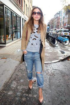 Get the look: Το μοντέρνο chic look της Myleene Klass #joyfashion