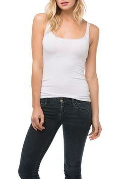 This stretch knit classic white cami tank with mesh trim is sure to become a staple of your wardrobe. It is simply a perfect tank for many occasions. Layer it under anything! You can wear this to work out in throw it under your favorite shirt or cardigan or even wear it to bed!  Mesh Trim Tank by subtle luxury. Clothing - Tops - Tees & Tanks Clothing - Tops - Sleeveless Boulder Colorado