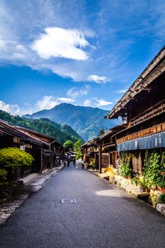 Nakasendo Road, Gifu, JAPAN