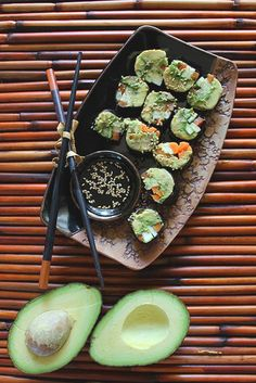 Vegan Sushi - the best kind! yum