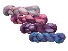 100 % Wolle , 4 x 100 gr.  von LitYarn auf DaWanda.com