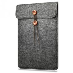 Business Style Anti-shock Protective Woolen Felt Case Bag Cover for Macbook Air Pro 11 12 13 15 Inch Laptop