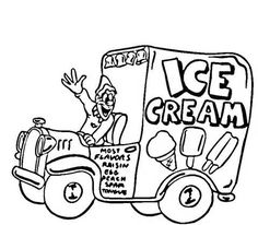 find this pin and more on happy creative ice cream flavors day ice cream truck coloring pages