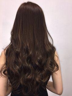 Full Shine U Part Wigs Human Hair Attached with Clips Medium Brown Straight Cut My Hair, Long Hair Cuts, Brown Hair Shades, Brown Hair Balayage, Gorgeous Hair, Beautiful, Aesthetic Hair, Brunette Hair, Dark Hair