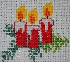 Tiny Cross Stitch, Cross Stitch Borders, Modern Cross Stitch, Cross Stitch Flowers, Counted Cross Stitch Patterns, Cross Stitch Designs, Cross Stitching, Cross Stitch Embroidery, Cross Stitch Christmas Cards