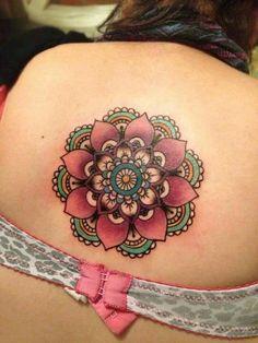 Mandala tattoo by lesa