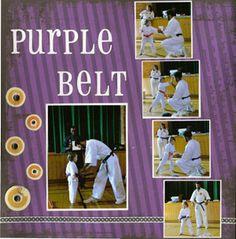 taekwondo scrapbook layouts | Martial-Arts Embellishments - Scrapbook.com