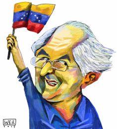 Weil: Lieberen a Ledezma http://shar.es/1WChou #Venezuela #Caricatura #Política