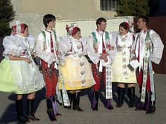 Podlužácký kroj - costumes South Moravia, Czech republic