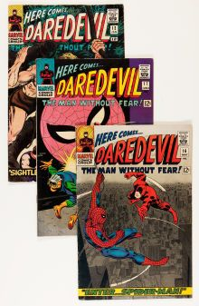 @@@ BID NOW ON THIS GROUP OF 19 HIGHLY SOUGHT AFTER Silver Age (1956-1969):Superhero, Daredevil Group (Marvel, 1965-67) Condition: Average VG-....(Total: 19 Comic Books)