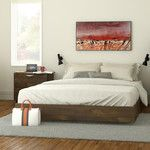 <strong>Nocce Queen Platform Bed</strong> by Nexera