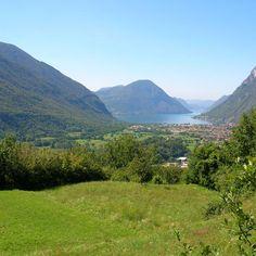Lago di Lugano vista da Gottro