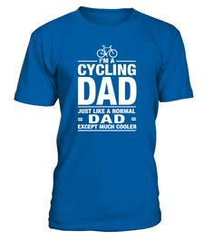 Cycling Dad Cool (Round neck T-Shirt Unisex - Royal Blue) #jeepsafari #everything #videos cycling gear, cycling chicks, cycling bikes, back to school, aesthetic wallpaper, y2k fashion Military Wife Funny, Breast Cancer Shirts, Rugby Players, Proud Mom, Neck T Shirt, Air Force, Dads, One Piece, Mens Tops