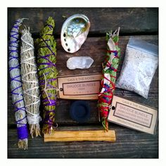 SALE Clarity Large Meditation Kit Abalone by MysticKeyMeditations Live Your Truth, Beacon Of Light, French Lavender, Emotional Pain, Abalone Shell, Smudging, Incense, Gifts For Kids, Clarity
