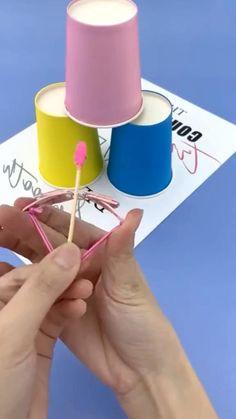 Hand Crafts For Kids, Diy Crafts For Teens, Diy Crafts To Do, Diy Crafts Hacks, Instruções Origami, Paper Crafts Magazine, Cool Paper Crafts, 5 Minute Crafts Videos, Anime