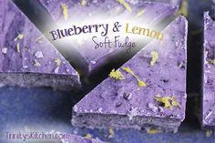 Dessert Recipe: Blueberry & Lemon Fudge #vegan #healthy #plantbased #whatveganseat #recipes #glutenfree #rawfood #dessert