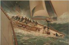 Dash around the lightship. NYPL, The Miriam and Ira D. Wallach Division of Art, Prints, and Photographs collection.