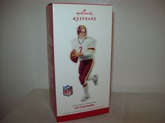 Hallmark Washington Redskins Football Joe Theismann Ornament 2013