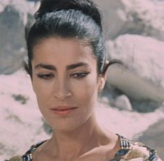 Helen of Troy - Irene Papas Old Hollywood Actresses, Actors & Actresses, Irene Papas, Greek Model, Zorba The Greek, Greek Beauty, Woman Movie, Glamour Shots, Best Actress