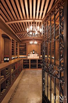 An Authentic Wine Cellar