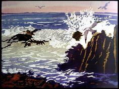 William Seltzer Rice (1873-1963) - Gulls and Sea