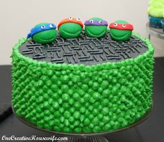 One Creative Housewife: Teenage Mutant Ninja Turtle Party {Part 2 The Food}